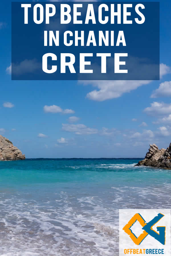 Best beaches in Chania,m Crete, by holiday style. Find out how to get to these beaches and what to bring with you.