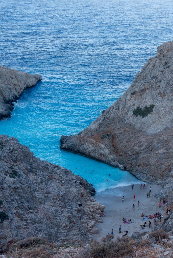 Seitan Limania Beach in Greece