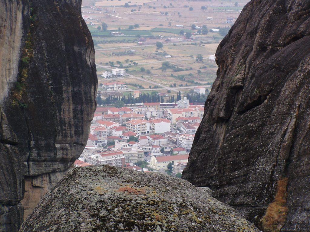 Kalambaka - view from Meteora