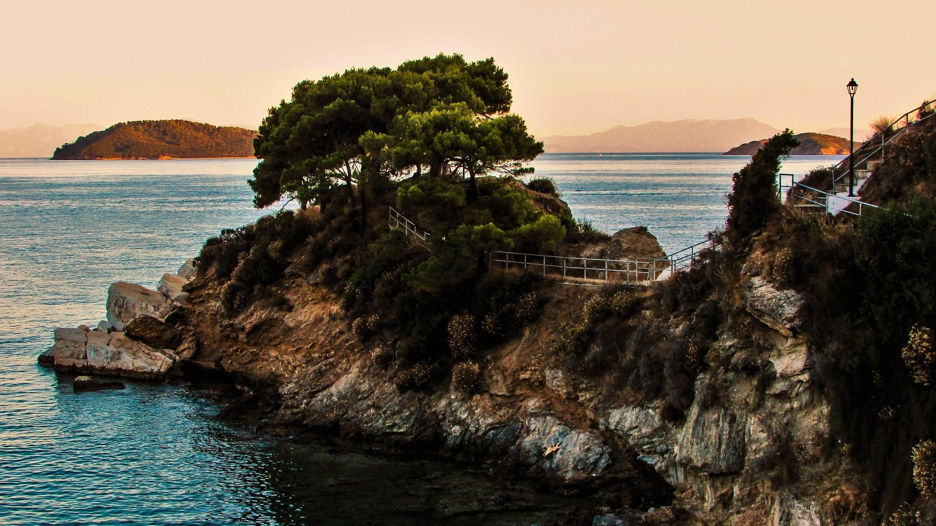 Skiathos Island Plakes Cape