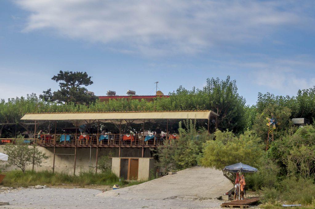 Lake Kourna Tavernas