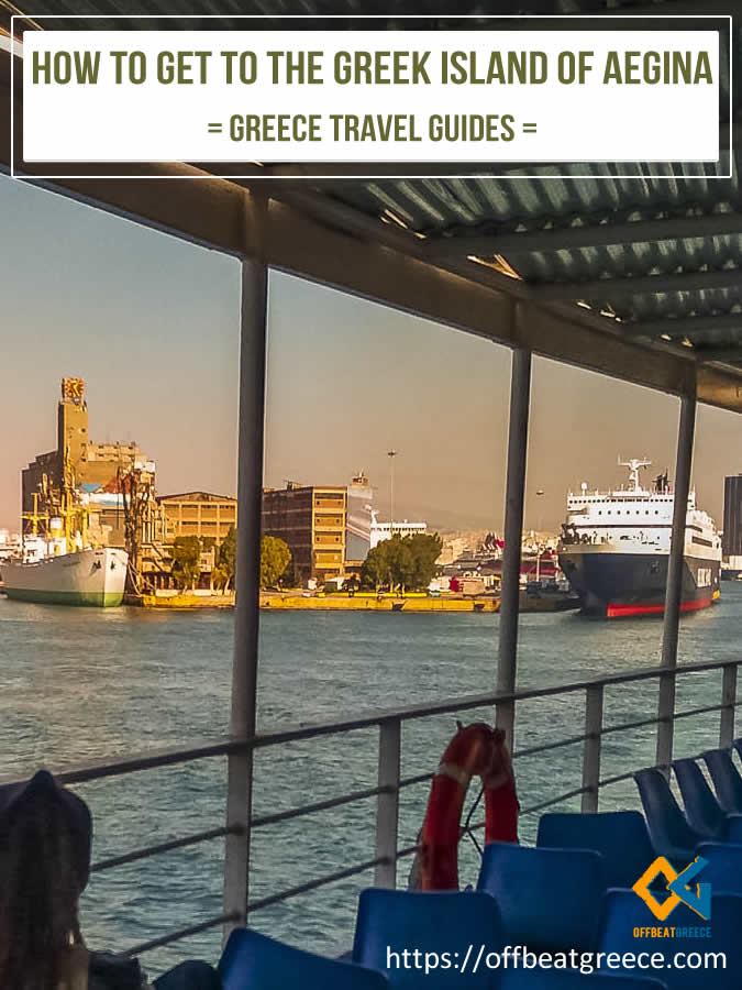 How to take the ferry from Piraeus to Aegina island in Greece