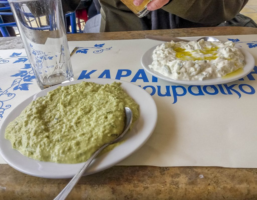 Greek Food Specialties on Aegina Island