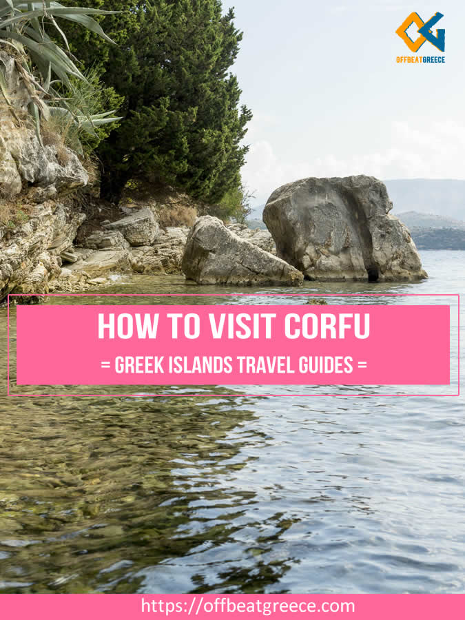 How to get to Corfu by ferry