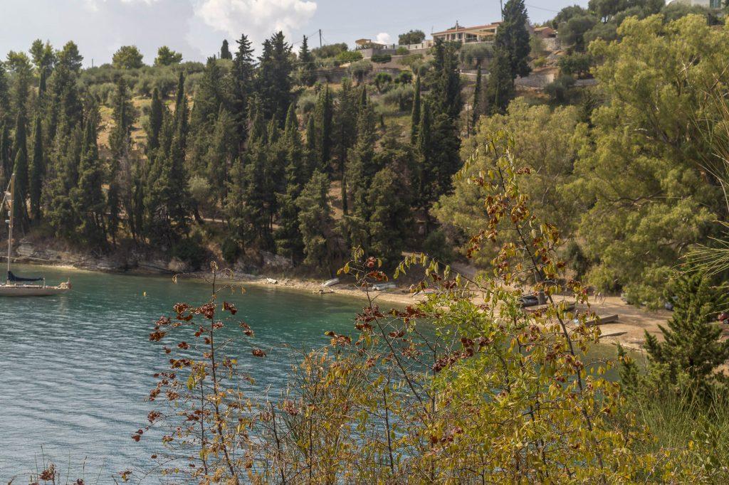 Chouchoulio, a hidden sandy beach in Corfu