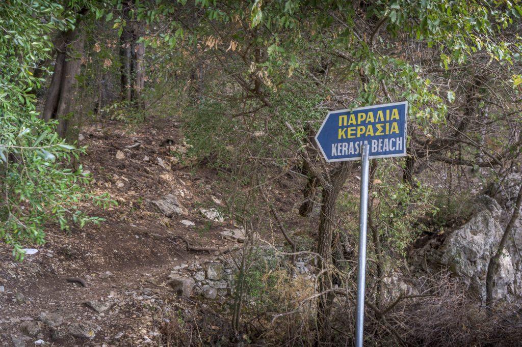 Corfu beaches and secret paths through the bush
