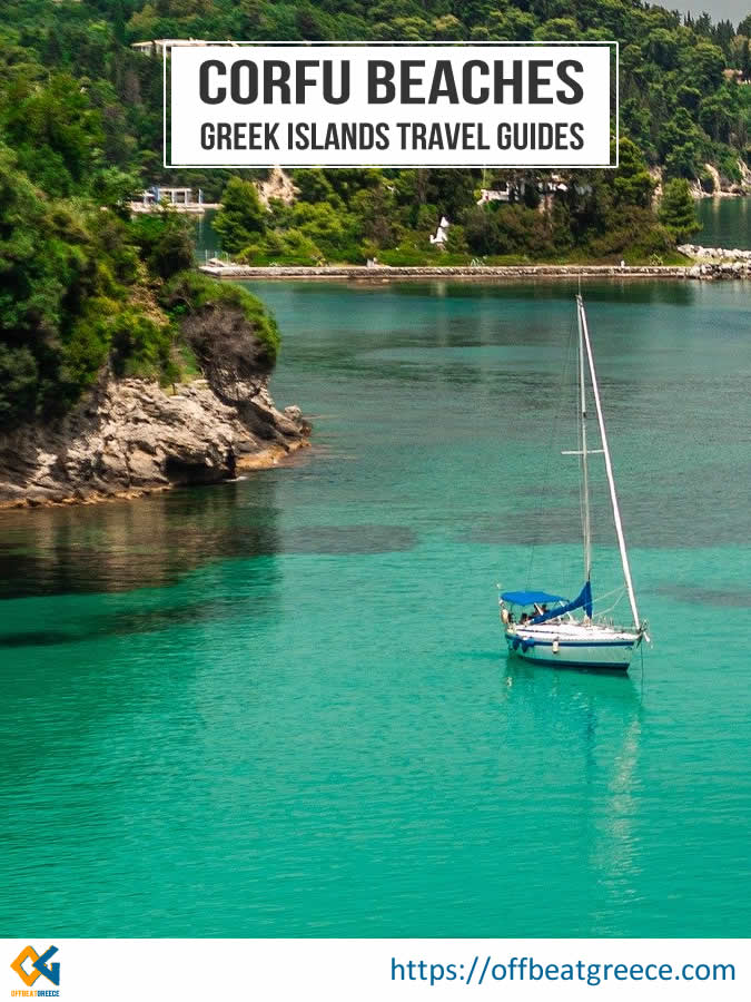 Explore the best Corfu beaches and enjoy this Greek island to the full