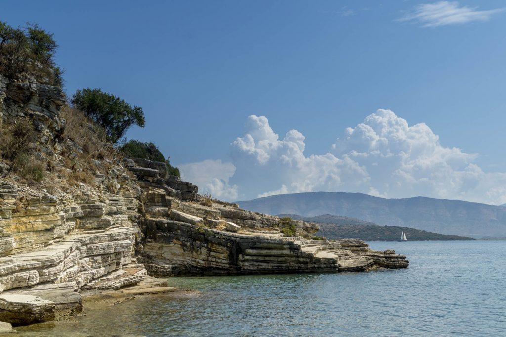 Kerasia Beach in Corfu