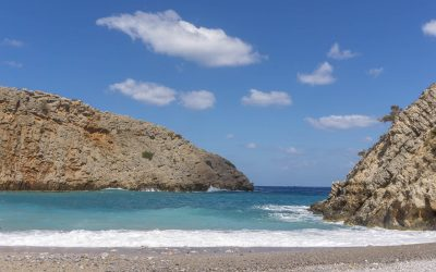 Menies Beach & The Dusty Roads of West Crete