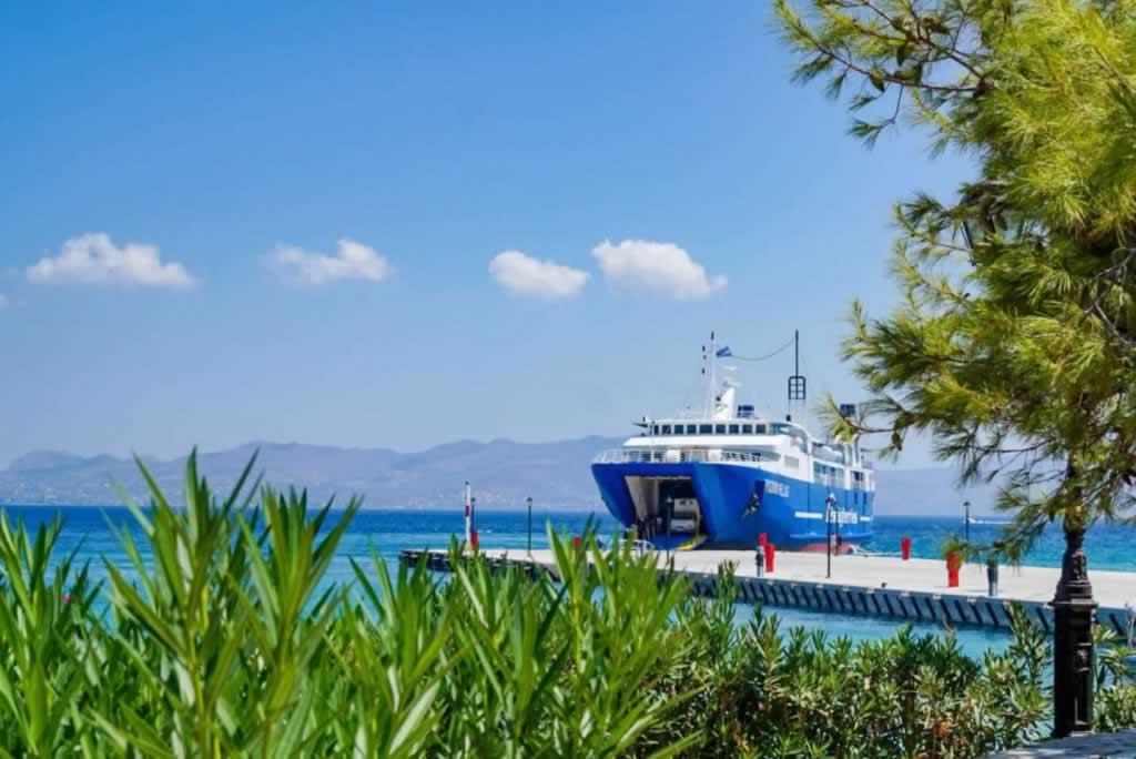 agistri blue ferry