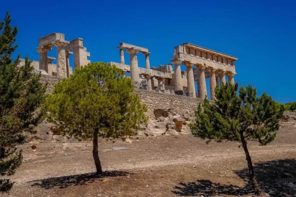 Aphaia Temple Aegina Island
