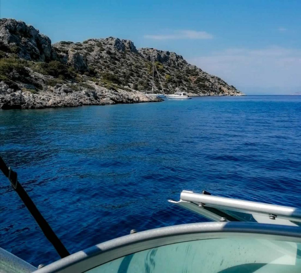 boat trip aegina island
