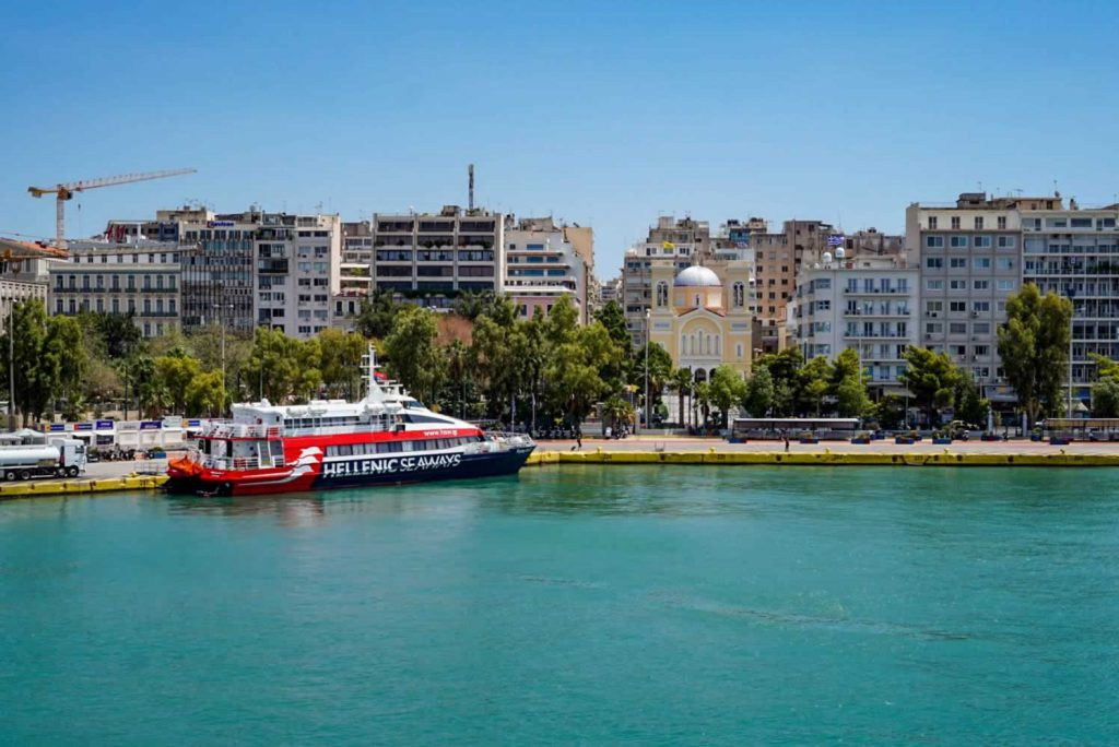 Greece Ferries in Piraeus
