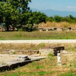 dion archeological site statues