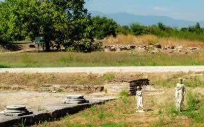 Dion Archeological Park – Swamps, Sanctuaries and Dragonflies