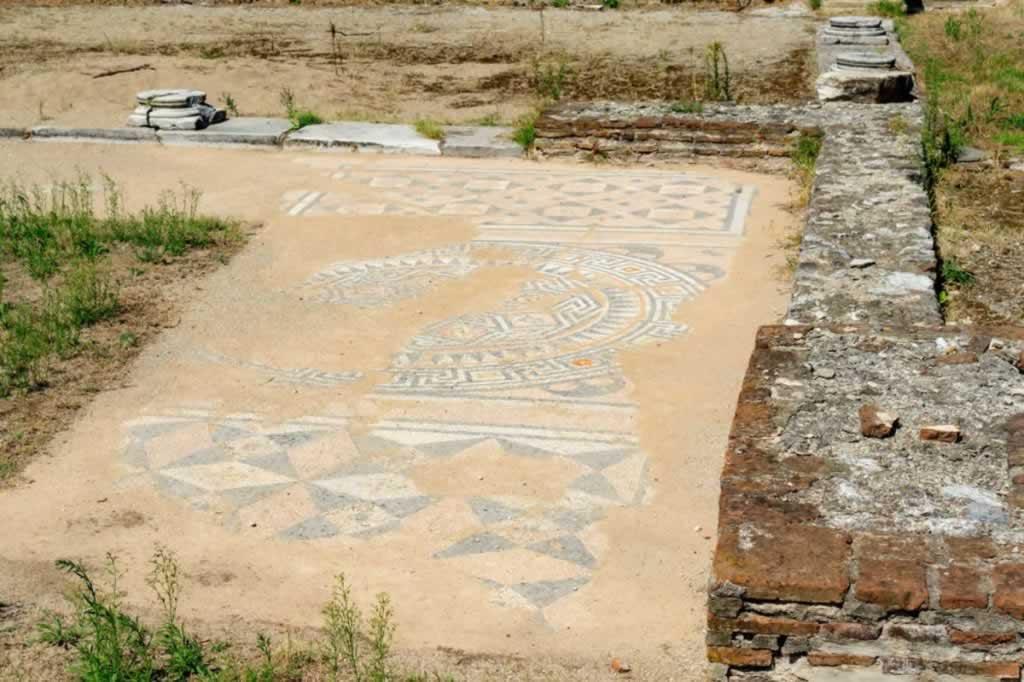 dion greece mosaic