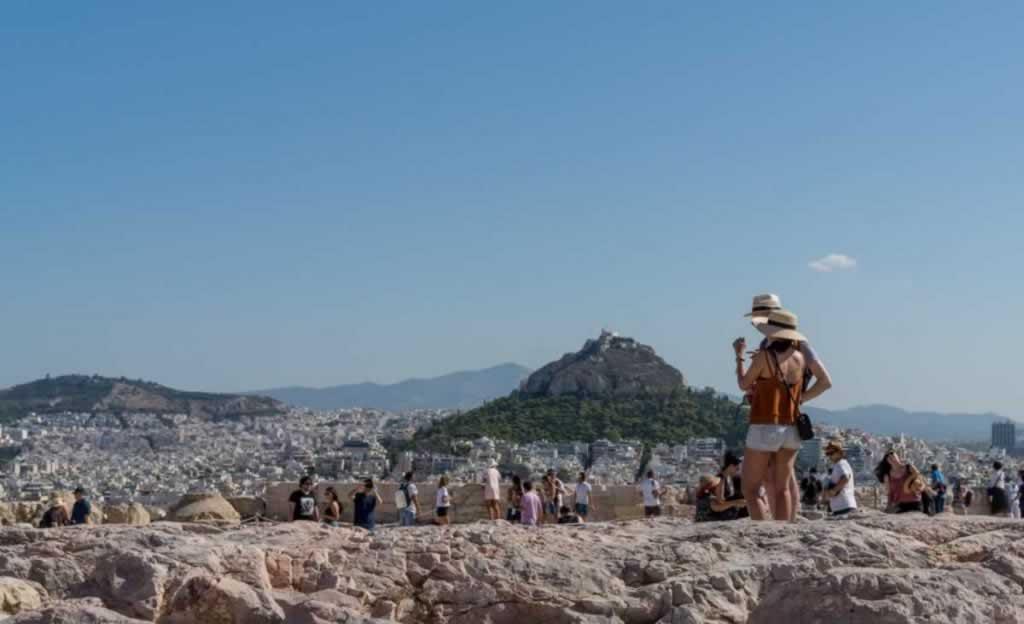Acropolis Lycabettus View