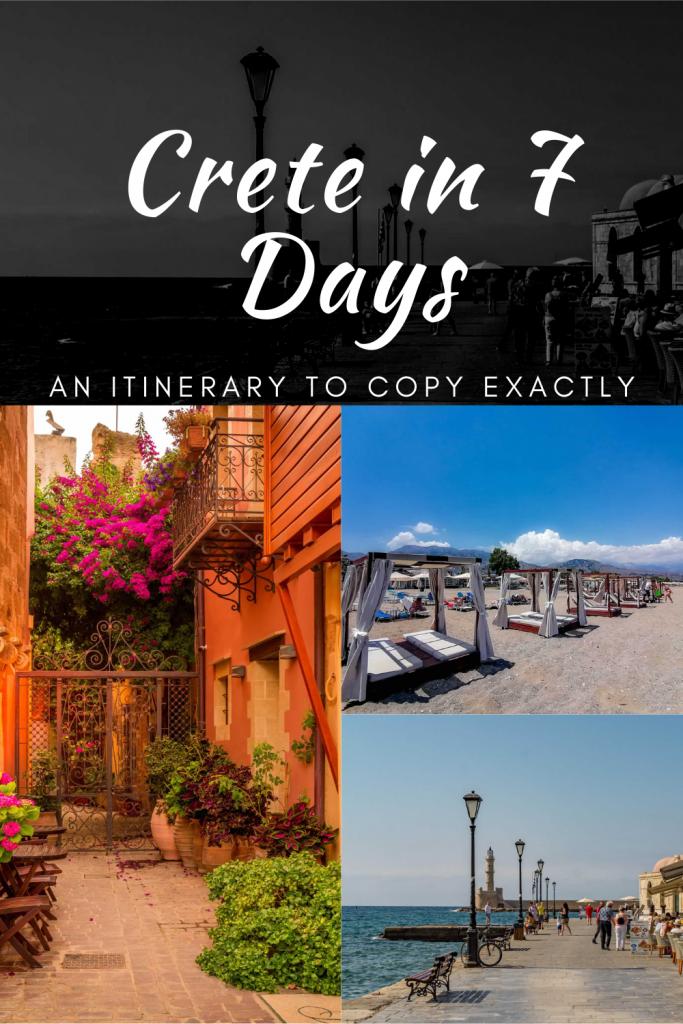 crete 7 days itinerary