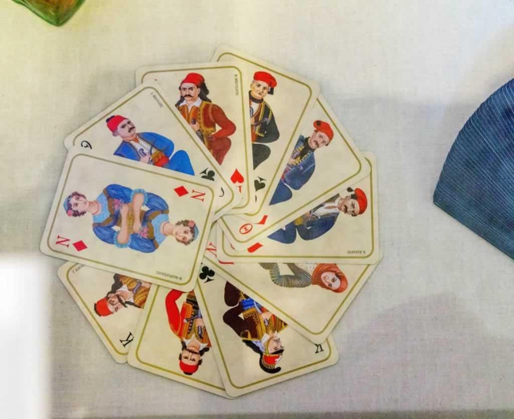 Greek Playing Cards Set