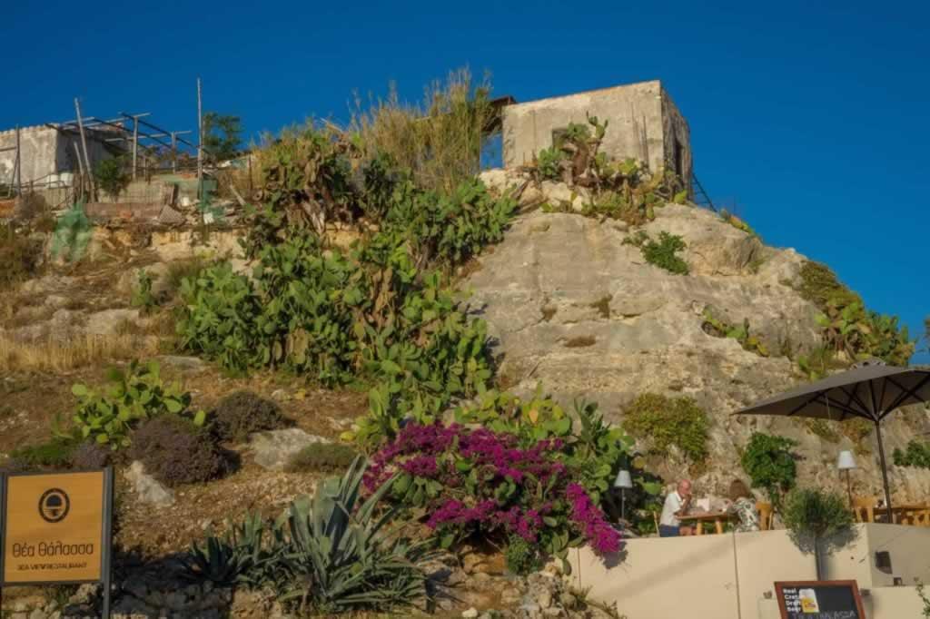 Rethymnon fortezza parking
