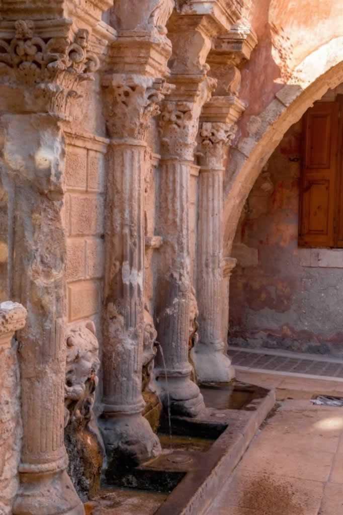 rethymno Rimondi Venetian Fountain