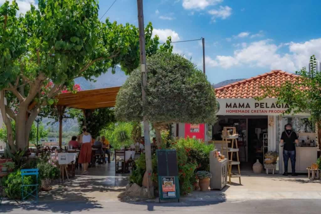 Pelagia's Yard Taverna Crete