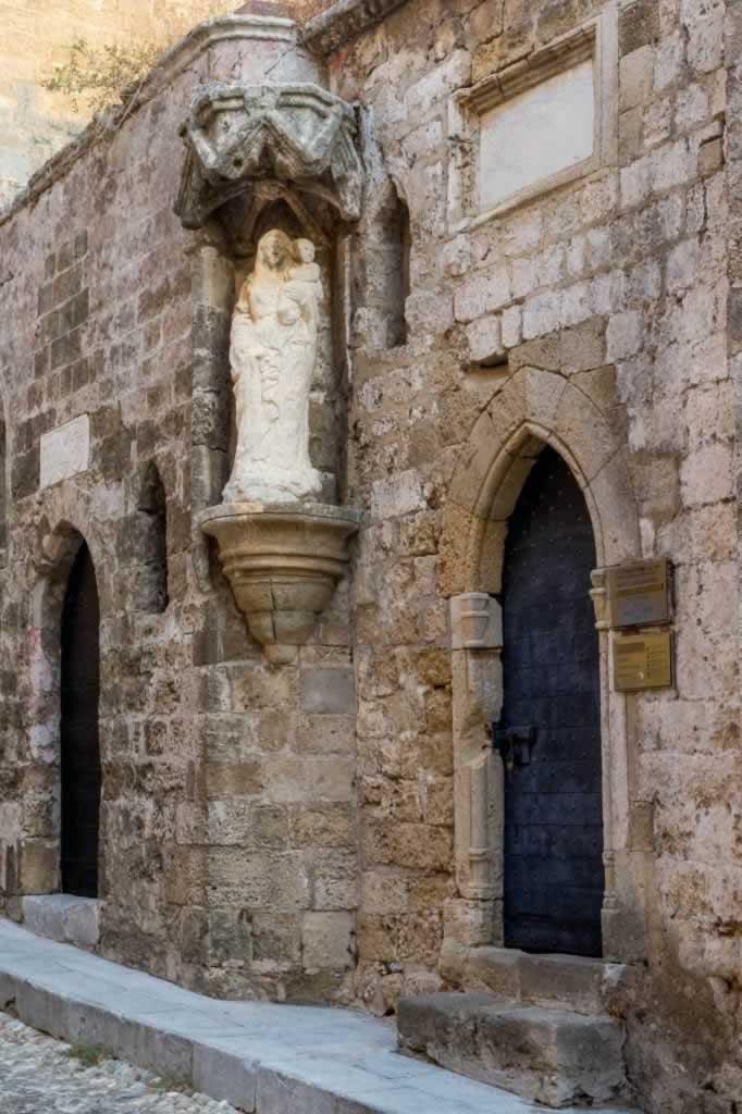 agia triada church Rhodes