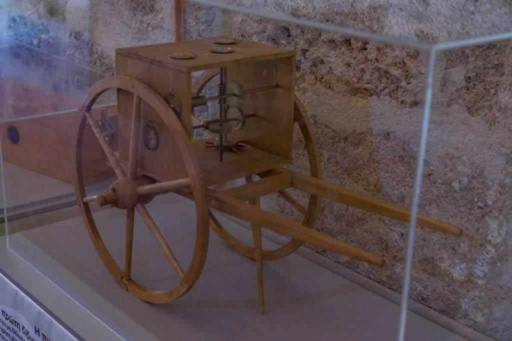 ancient greek technology hodometer