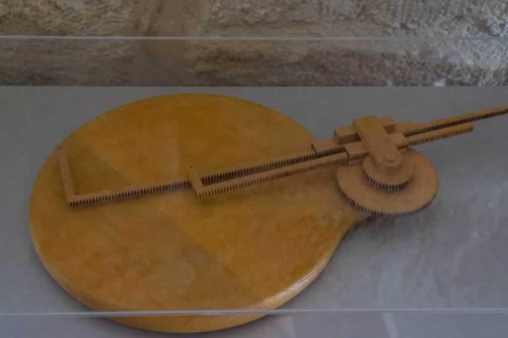 ancient Greek pantograph