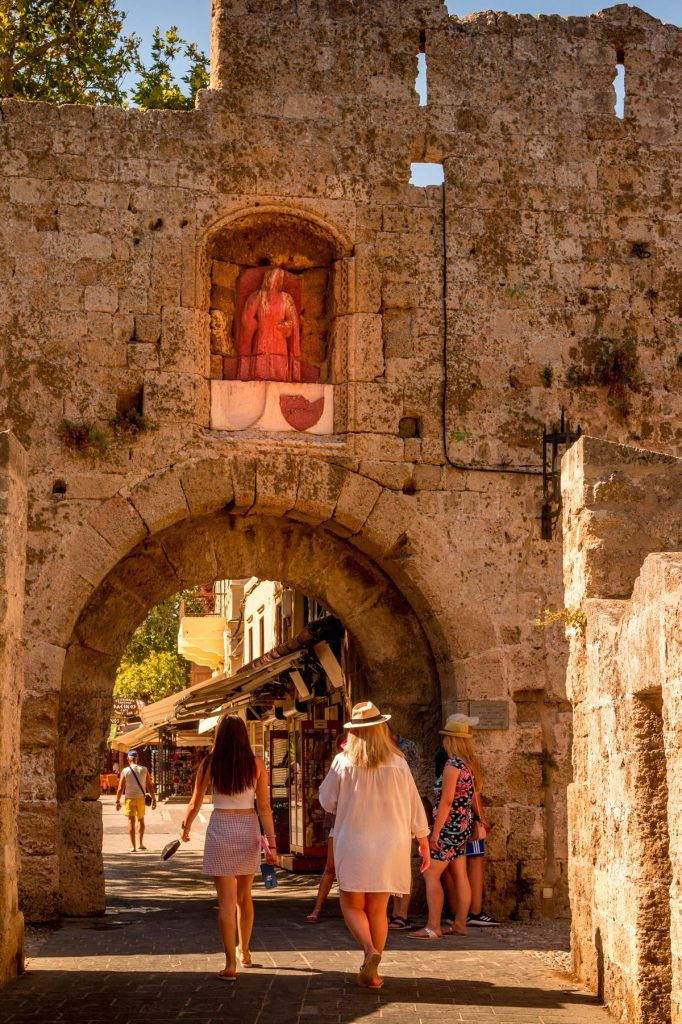 Saint Anthony's Gate Rhodes Old Town