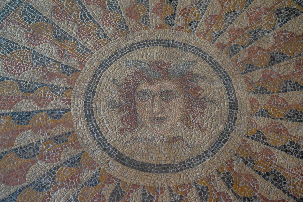 Mosaic from Kos in the Palace of the Grand Master Rhodes