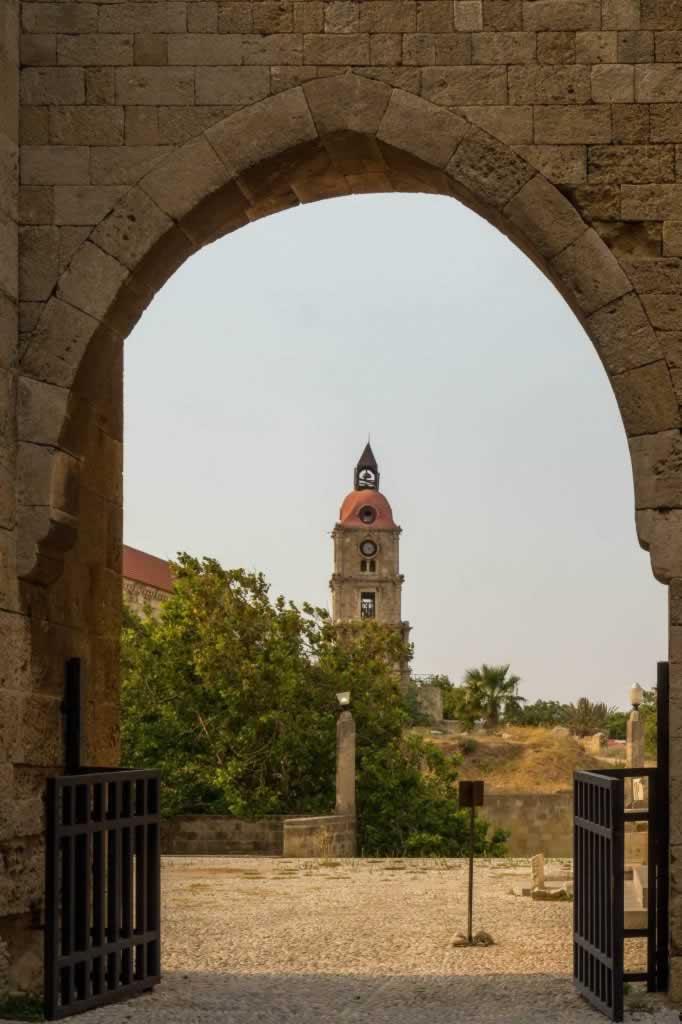 Roloi Clock Tower Rhodes