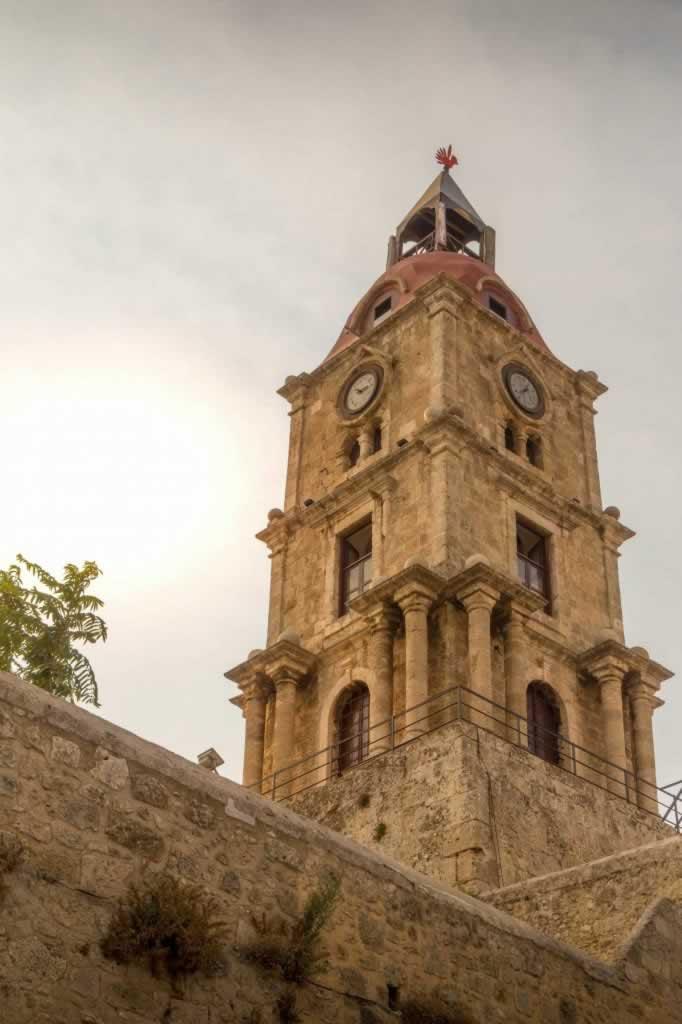 rhodes roloi clock tower